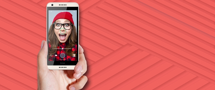 HTC Desire 650 Front Camera