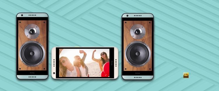 HTC Desire 650 Audio