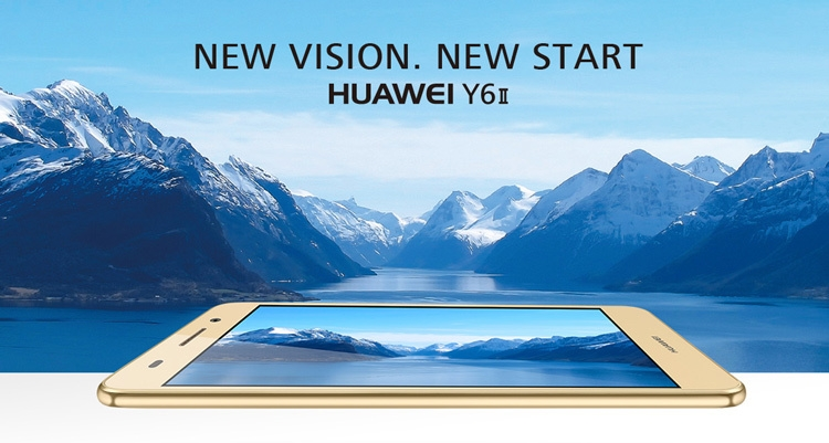 Huawei Y6 II Mobile Phone