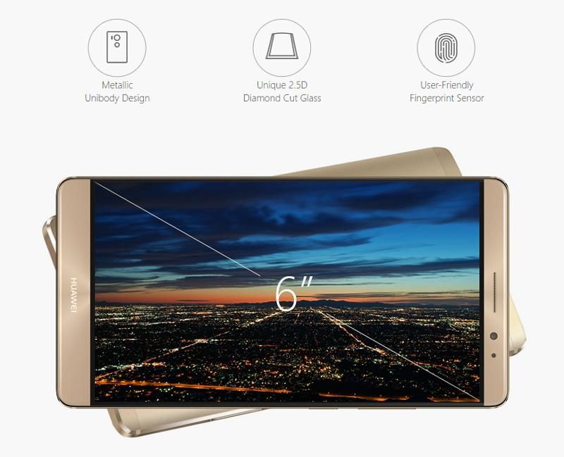 Huawei Mtate 8 Design