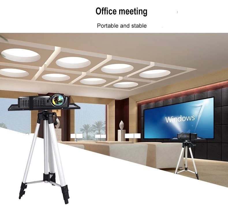 HY Professional Projector Tripod Mount Holder Stand Adjustable 52 - 150cm