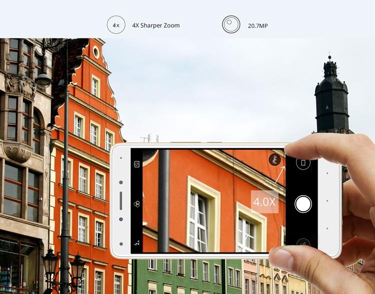 Infinix X555 Zero 4 Plus Back Camera Zoom