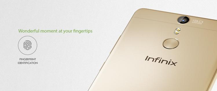 Infinix Hot S Fingerprint Scanner