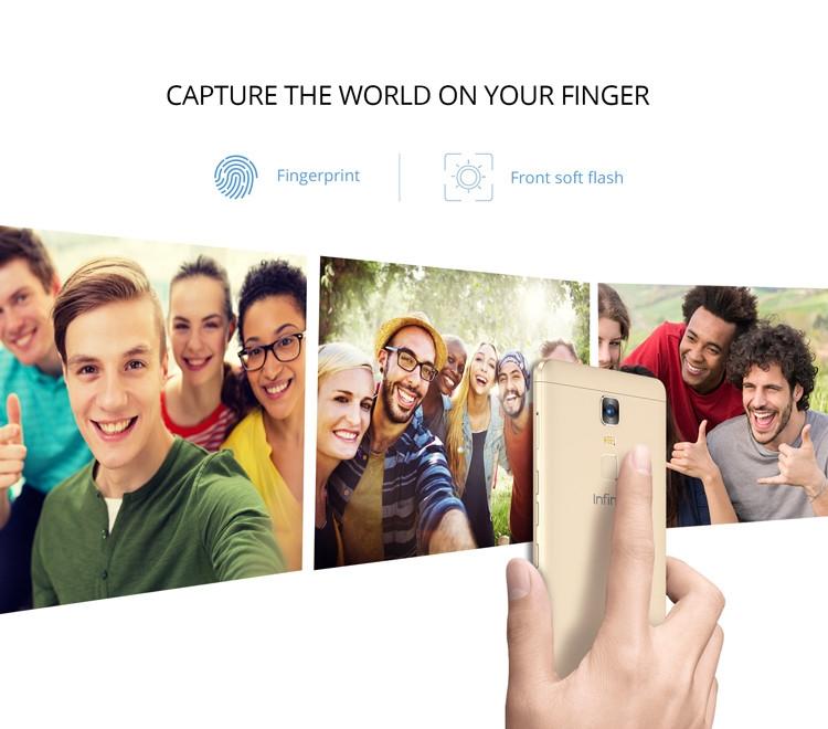 Infinix Note3 Fingerprint Sensor