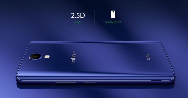 Infinix Note 4 Design