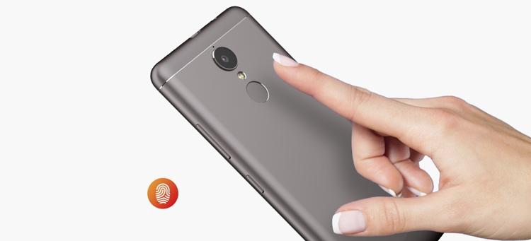 Lenovo K6 Fingerprint Sensor