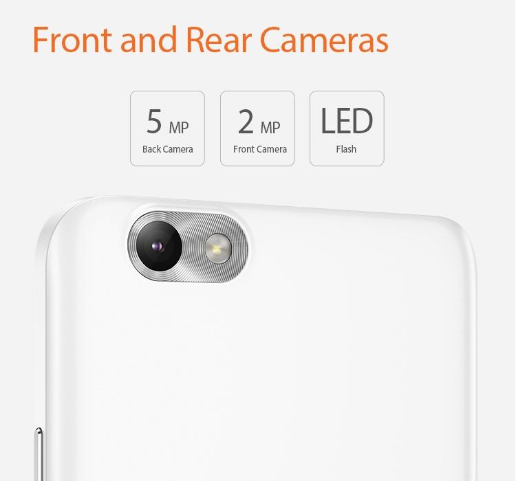 Lenovo Vibe C Camera