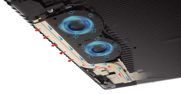 Lenovo Legion Y520 Cooling