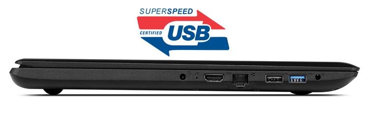 Lenovo Ideapad 110-15ACL USB 3.0