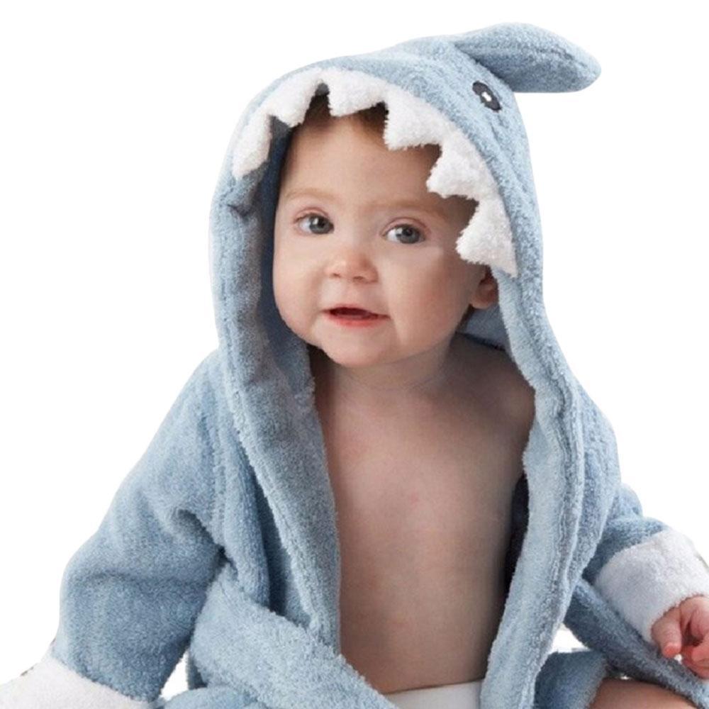 b3898712e112 Louis Will Soft Cartoon Baby Bath Towels Hooded Towel Newborn ...