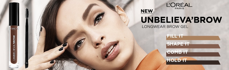 wunderbrow, perfect eyebrows, wunder 2, unbelieva'brow, brow gel, eyebrows, longwear, longwear brow