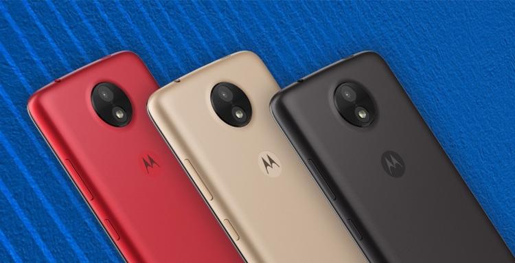 Motorola Moto C Screen