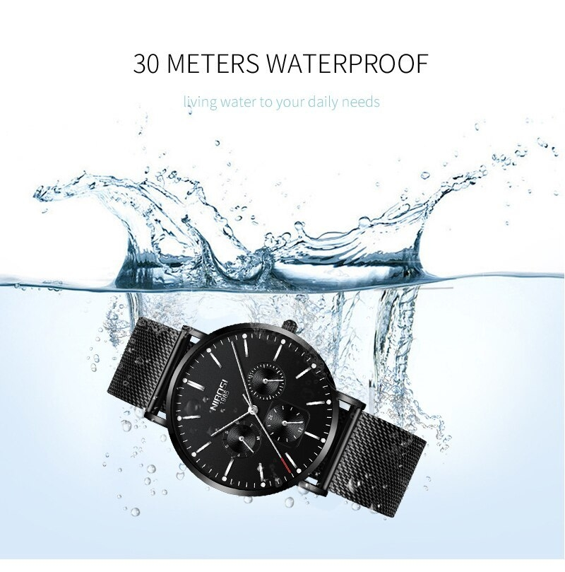 NIBOSI Luxury Brand 2018 Men Watches Ultra Thin Watches For Men Famous Brand Watch With Date men waterproof Relogio Masculino    (11)