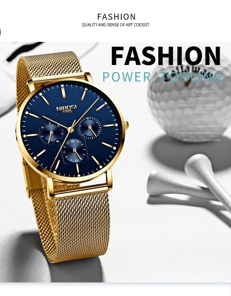 NIBOSI Luxury Brand 2018 Men Watches Ultra Thin Watches For Men Famous Brand Watch With Date men waterproof Relogio Masculino    (3)