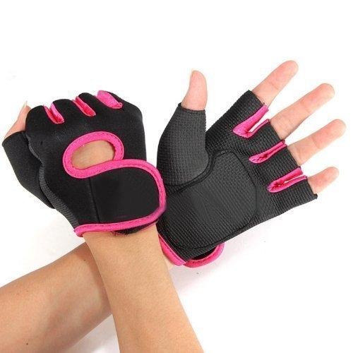 Sport Gloves For Gym: Sale On Generic Half Finger Gloves For GYM Weightlifting