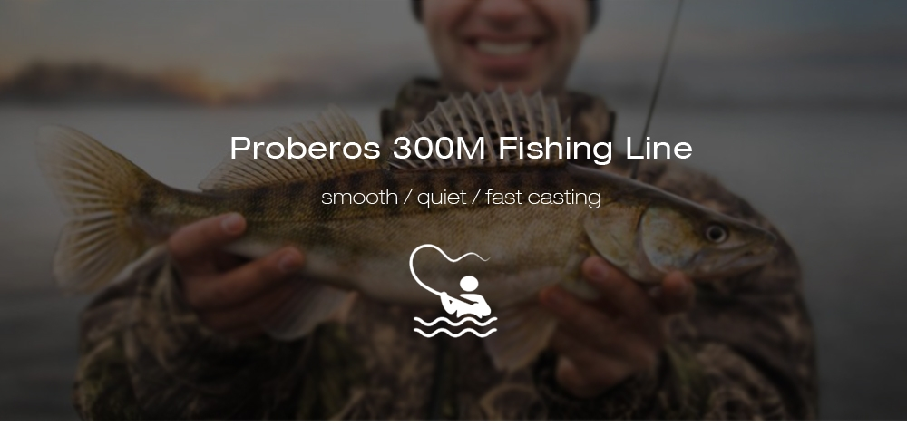 Proberos Super Strong 300M 8 Strand Weaves PE Braided Fishing Line