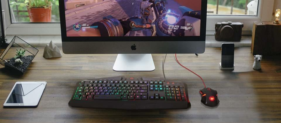 redragon s101 gaming keyboard and mouse combo