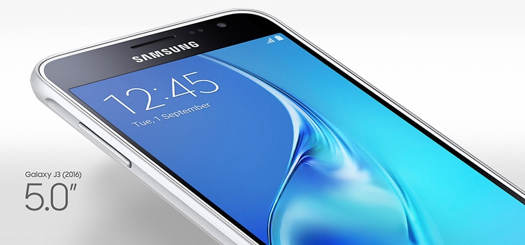 Samsung Galaxy J3 (2016) Screen