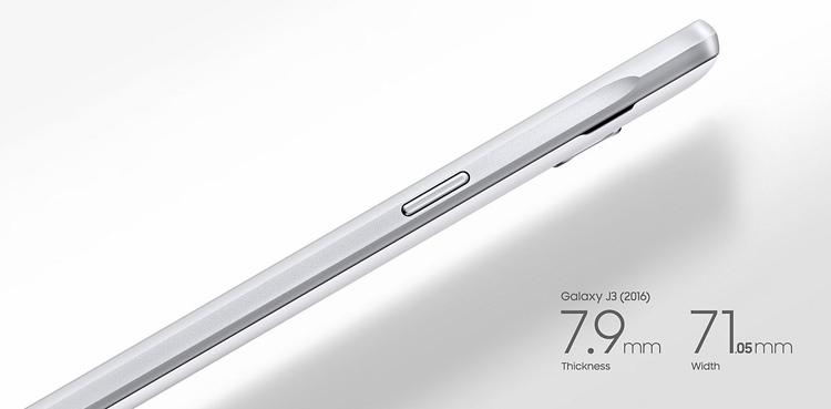 Samsung Galaxy J3 (2016) Dimensions