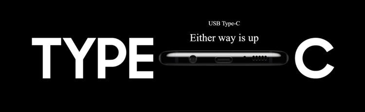 Samsung Galaxy S8+ USB Type C Port