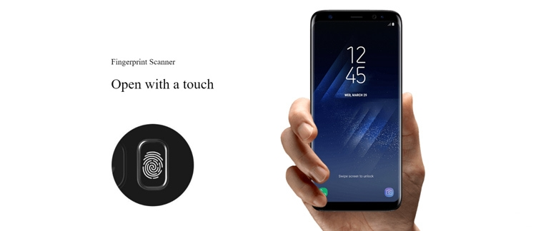 Samsung Galaxy S8+ Fingerprint Sensor