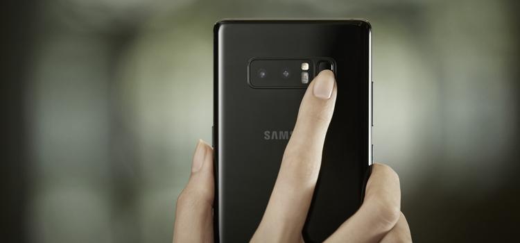 Samsung Galaxy Note8 Security