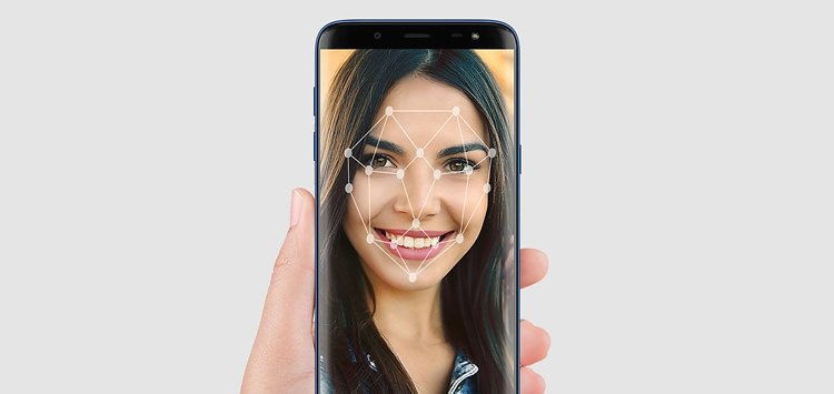 Samsung Galaxy J6 Face Recognition