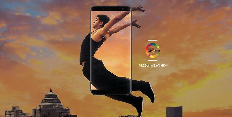 Samsung Galaxy J6 Screen
