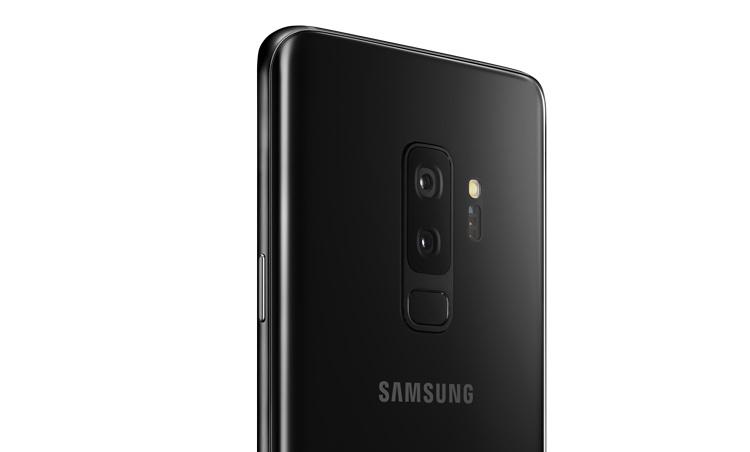 Samsung المجرة S9+ الجهة الخلفية الكاميرا