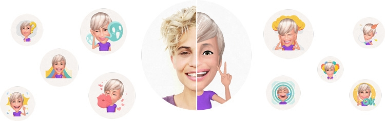 Samsung Galaxy S9+ Emoji