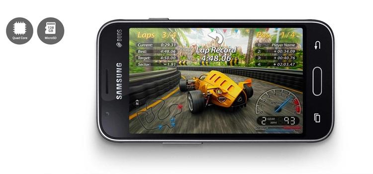 Samsung Galaxy J1 mini prime Processor