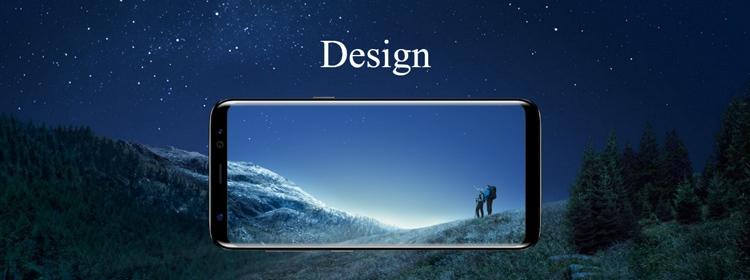 Samsung Galaxy S8+ Design