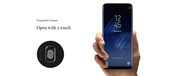 Samsung Galaxy S8+ Fingerprint Sensor