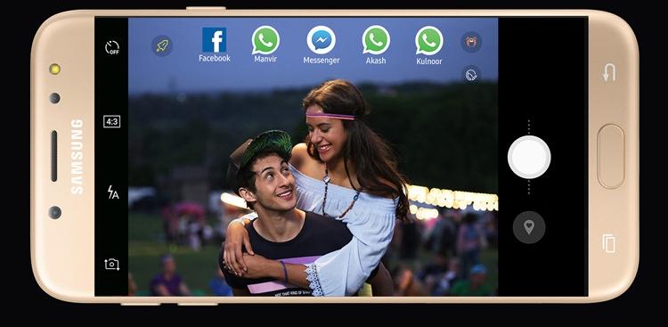 Samsung Galaxy J7 Pro (2017) Social Camera