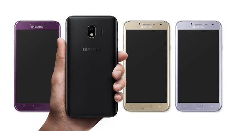 Samsung Galaxy J4 Design