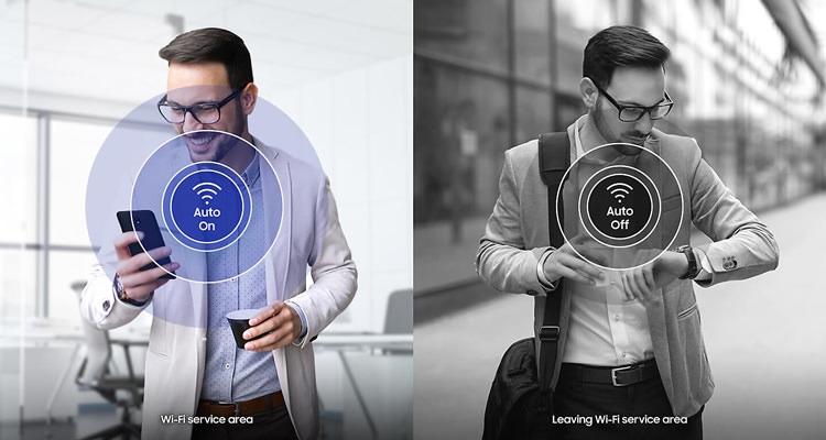 Samsung Galaxy J4 Wi-Fi Switching