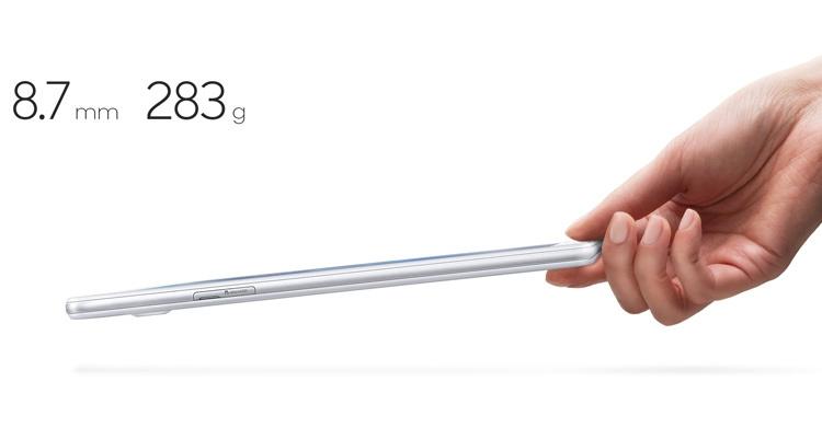 Samsung Galaxy Tab A 7.0 (2016) Dimensions