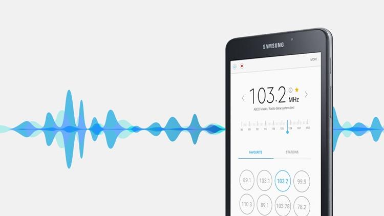 Samsung Galaxy Tab A 7.0 (2016) Radio