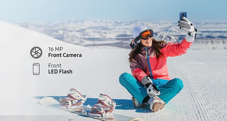 Samsung Galaxy A6 (2018) Front Camera