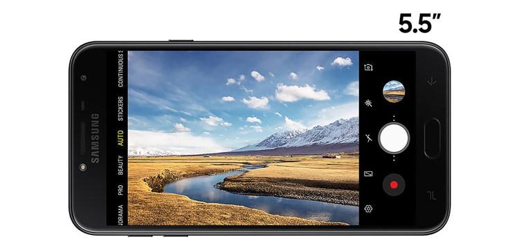 Samsung Galaxy J4 Screen