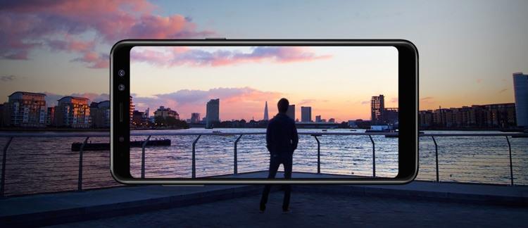 Samsung Galaxy A8 (2018) Screen