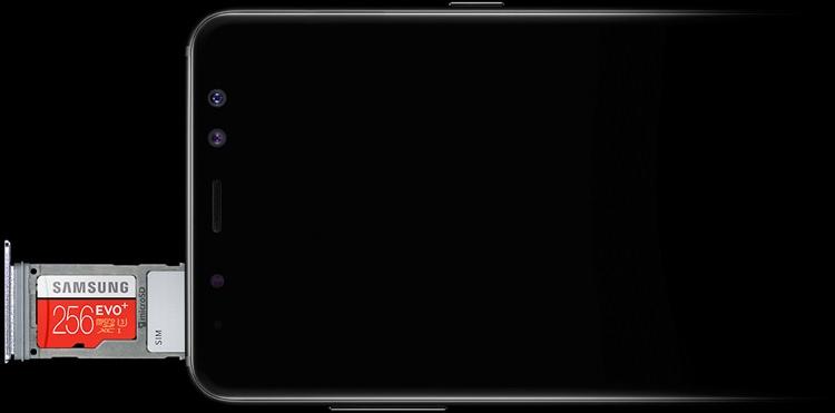 Samsung Galaxy A8 (2018) Mémoire