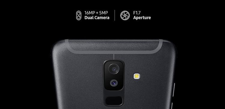Samsung Galaxy A6+ (2018) Back Camera
