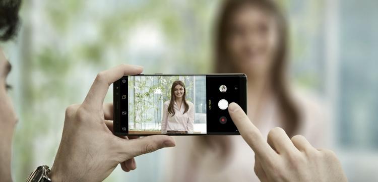 Samsung Galaxy Note8 Back Camera