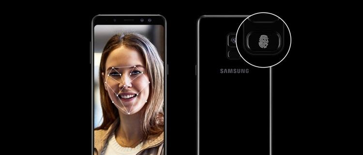 Samsung Galaxy A8 (2018) Sensors