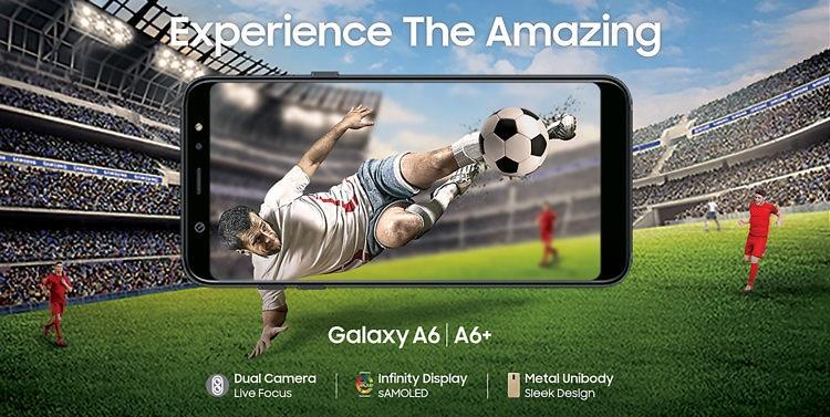 Samsung Galaxy A6+ (2018) Design