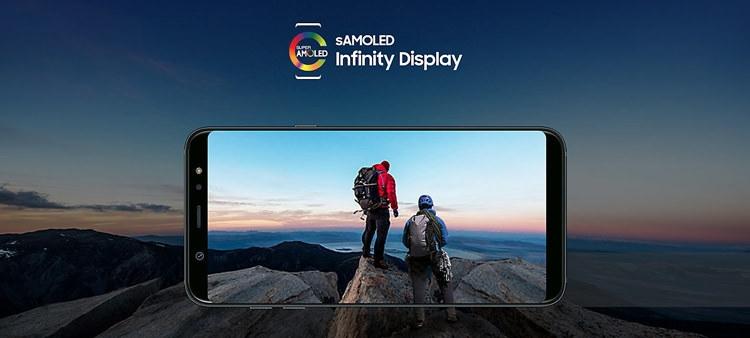 Samsung Galaxy A6+ (2018) Screen