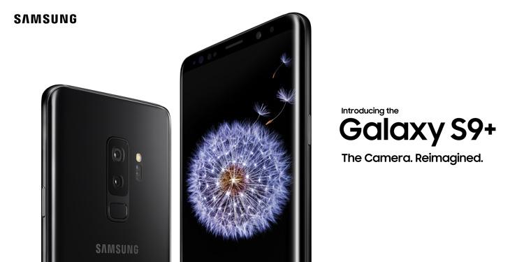 Samsung Galaxy S9+ Design