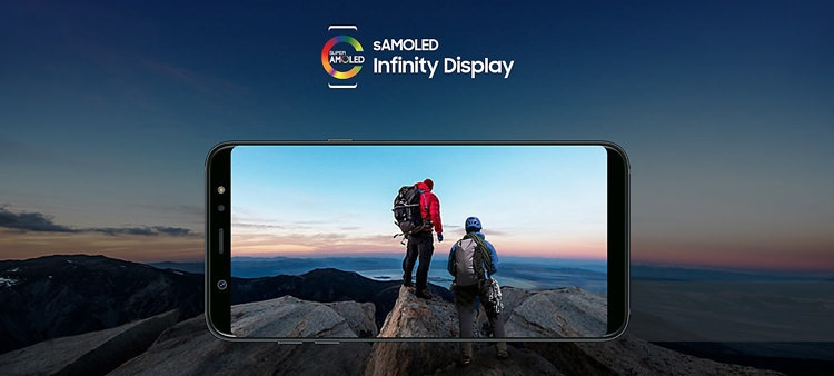 Samsung Galaxy A6 (2018) Screen