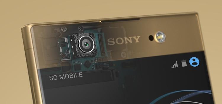 Sony Xperia XA1 Ultra Dual Front Camera